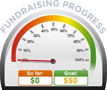 Fundraising Amount=$0.00 ; Goal=$50.00