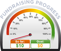 Fundraising Amount=$10.00 ; Goal=$0.00
