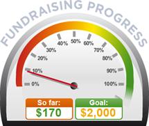Fundraising Amount=$170.00 ; Goal=$2,000.00