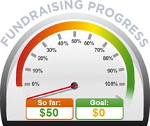 Fundraising Amount=$50.00 ; Goal=$0.00