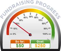 Fundraising Amount=$50.00 ; Goal=$250.00